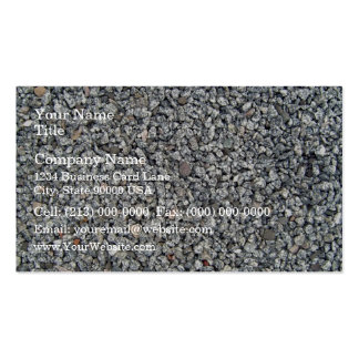 Loose stone and Gravel Texture Double-Sided Standard Business Cards (Pack Of 100)