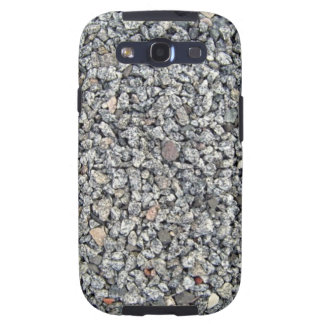 Loose stone and Gravel Texture Galaxy S3 Covers