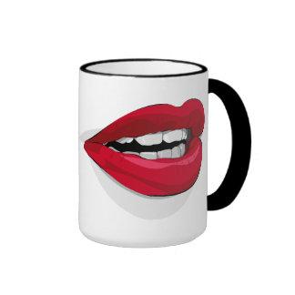 Loose Talk. Ringer Mug