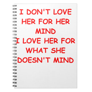 loose woman note book