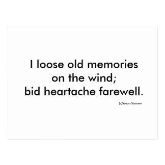 Loosed Memories Postcard
