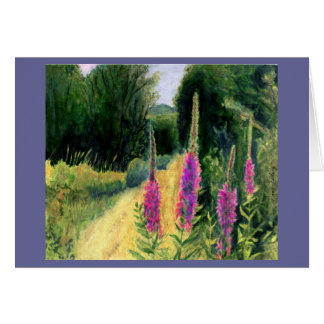 Loosestrife on Egypyt Road Stationery Note Card