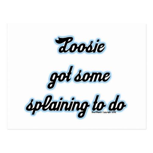 Loosie consiguió algún 'Splaining para hacer Tarjeta Postal