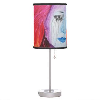 Loosing Color Surreal Original Art Lamp