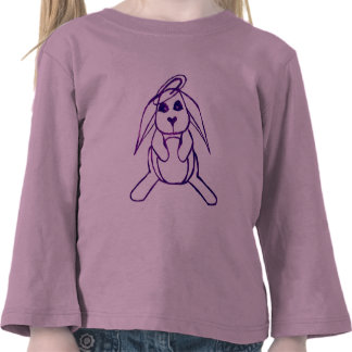 lop bunny t-shirt