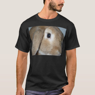 Lop Eared Bunny close-up T-Shirt