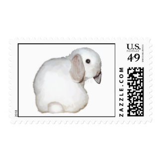 Lop eared bunny postage