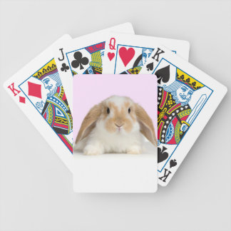 Lop-Eared Bunny Rabbit Playing Cards