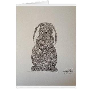 Lop eared rabbit design cards