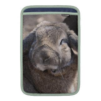Lop Eared Rabbit MacBook Sleeves