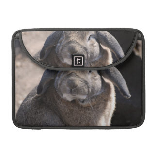 Lop Eared Rabbit Sleeves For MacBooks