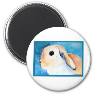 Lop Eared Rabbit Magnet