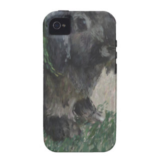 Lop eared  rabbit painting Case-Mate iPhone 4 cases