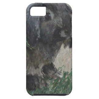 Lop eared  rabbit painting iPhone 5 covers