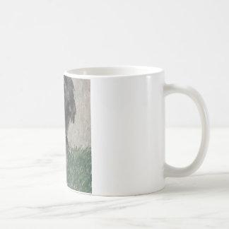 Lop eared  rabbit painting coffee mugs