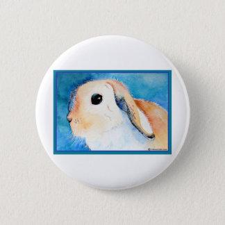 Lop Eared Rabbit Pinback Button