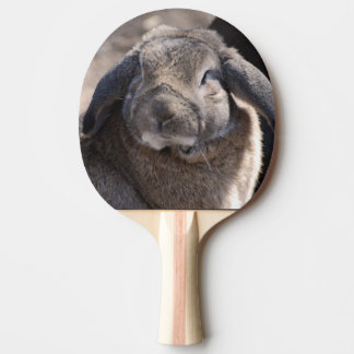 Lop Eared Rabbit Ping Pong Paddle