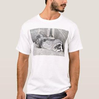 Lop  eared rabbit sleeping T-Shirt