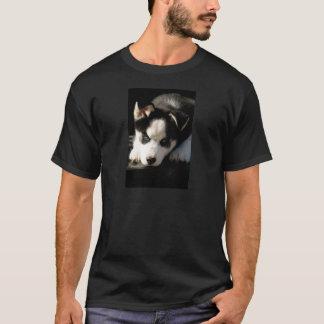 Lop Eared Siberian Husky Sled Dog Puppy 2 T-Shirt