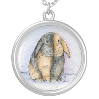 LOP SILVER PLATED NECKLACE