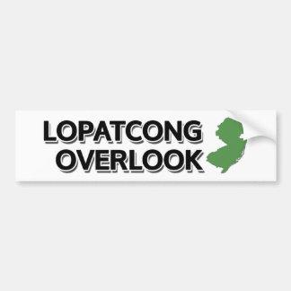 Lopatcong pasa por alto New Jersey Pegatina De Parachoque