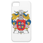 Lopes Family Crest iPhone 5 Cover