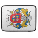 Lopes Family Crest Sleeves For MacBook Pro