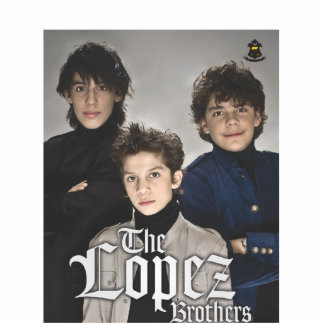 lopez brothers photo statuette