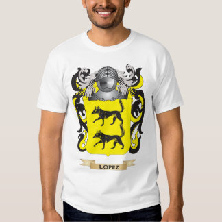 Lopez Coat of Arms (Family Crest) Shirt