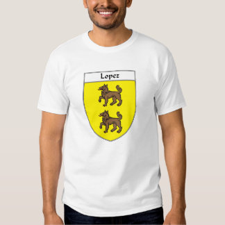 Lopez Coat of Arms/Family Crest T Shirt