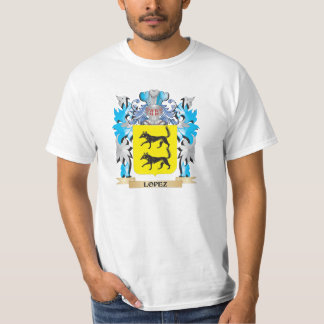 Lopez Coat of Arms - Family Crest T-shirts