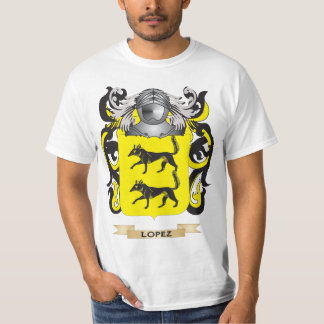 Lopez Coat of Arms (Family Crest) Tee Shirt
