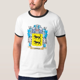 Lopez Coat of Arms - Family Crest Tee Shirts