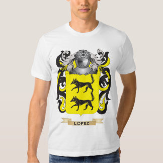 Lopez Coat of Arms (Family Crest) Tshirt