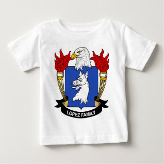 Lopez Family Coat of Arms Baby T-Shirt