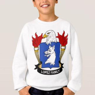Lopez Family Coat of Arms Sweatshirt