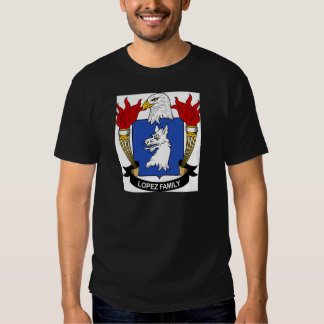 Lopez Family Coat of Arms T-shirts