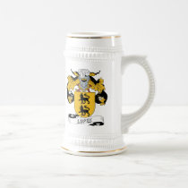 Lopez Family Crest Beer Stein