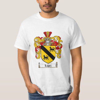 Lopez Family Crest - Lopez Coat of Arms T-Shirt