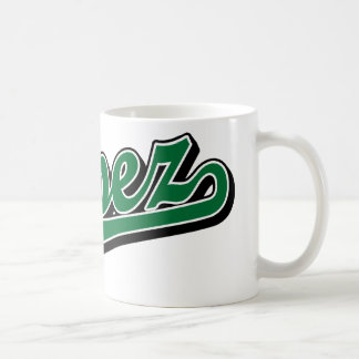 Lopez in Green Coffee Mug