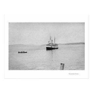 Lopez Island, WA - Rosalie Ferry San Juan Postcard