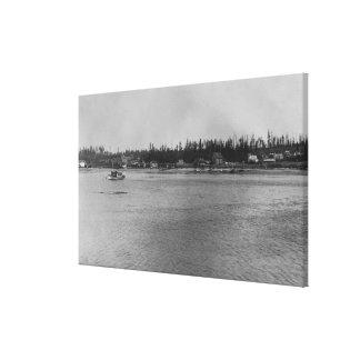 Lopez Island, WA - San Juan Canvas Print