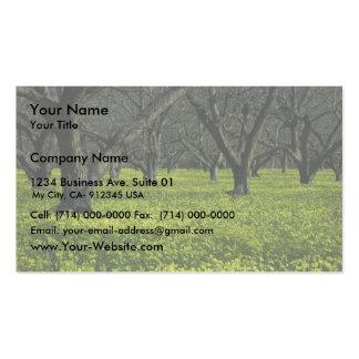 Lopez Lake Garden Business Card