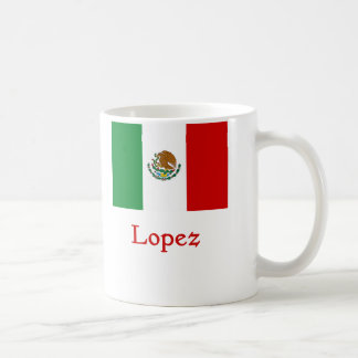 Lopez Mexican Flag Coffee Mug