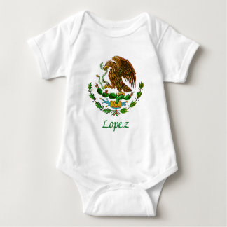 Lopez Mexican National Seal Baby Bodysuit