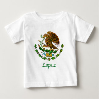 Lopez Mexican National Seal Baby T-Shirt