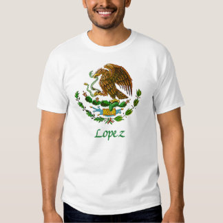 Lopez Mexican National Seal Tshirts