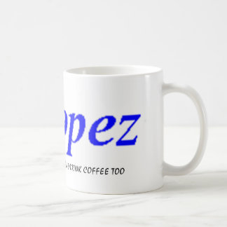 Lopez Name Club 517 Coffee Mug 1