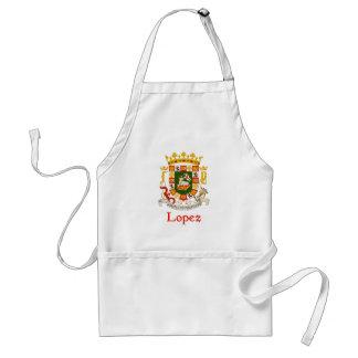 Lopez Shield of Puerto Rico Aprons