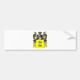 Lopez (Spanish) Coat of Arms Bumper Sticker